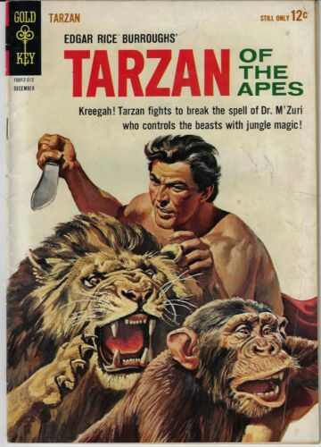 TARZAN OF THE APES # 139 GOLD KEY 1963