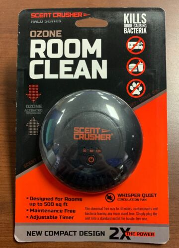 Scent Crusher Halo Series Ozone Room Clean Plug In - FAST, FREE SHIPPING!!!