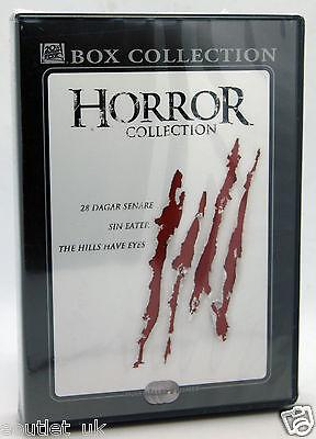3 Horror Film Hills Have Eyes, 28 Days Later , Sin Eater DVD per Halloween Nuovo - Film Per Halloween Horror