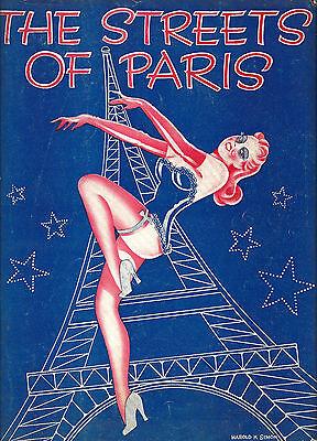 "Michael Todd's ""STREETS OF PARIS"" New York World's Fair 1940 Souvenir Program"