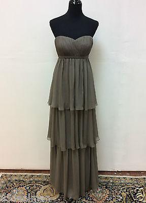 NEW Bari Jay Bridesmaid Dress Style 871 Chiffon 12 Chiffon A Line Layered Formal