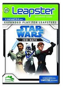 LeapFrog Leapster : Star Wars : Jedi Math K - 2nd Grade [NEW & SEALED]