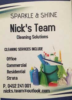 Nick's Team Cleaning Solutions