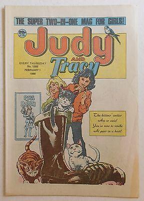 JUDY & TRACY Comic #1360 - 1st February 1986