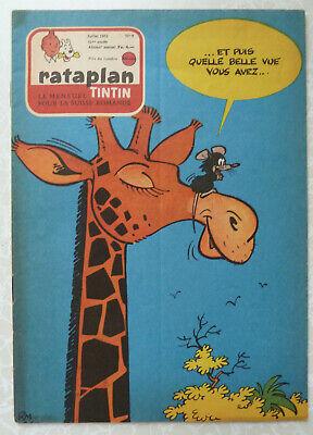Rataplan #7 TinTin - Juillet 1962 - F/VF 7.0