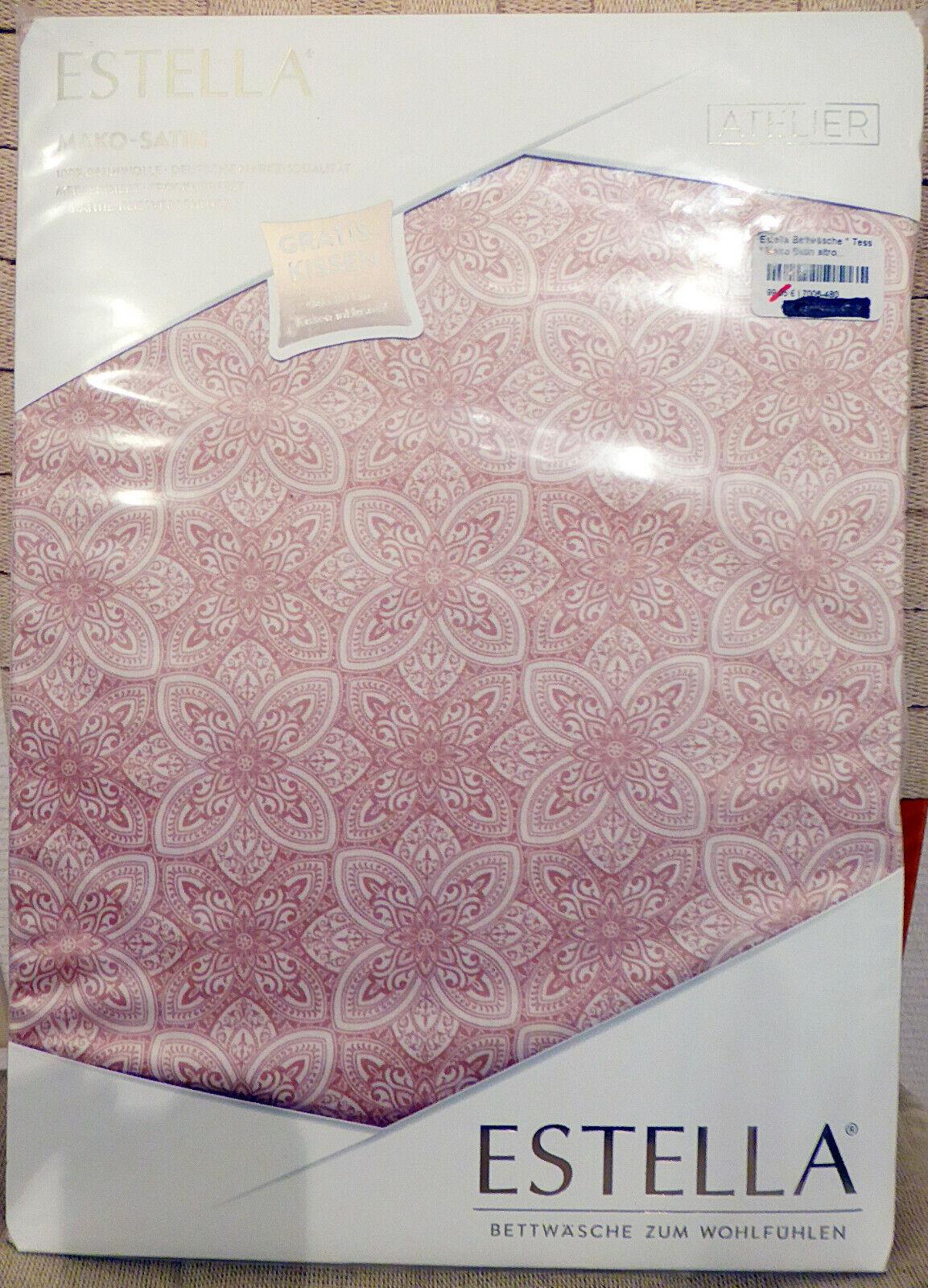 P.K.-Collection Mako-Satin Bettwäsche 100/% Baumwolle Aqua Stripe