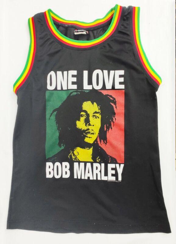 Bob Marley One Love Sleeveless Tank Wall of Fame Medium Women