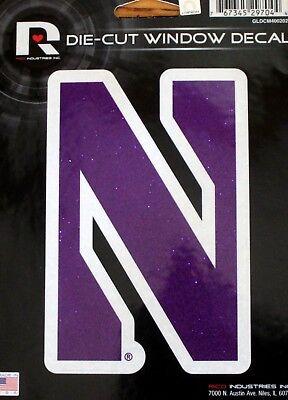 - Northwestern University Wildcats Die Cut Window Decal College Sticker USA Made