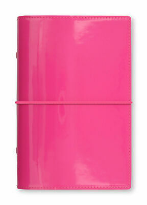 Filofax - Personal Domino Patent Hot Pink - High Gloss Patent Look Organiser