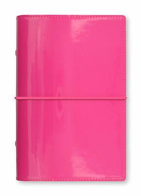 Filofax - Personal Domino Patent Hot Pink - High Gloss Patent Look Organiser