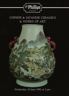 CHINESE PORCELAIN & JAPANESE & OTHER EASTERN WORKS OF ART AUCTION CATALOGUE
