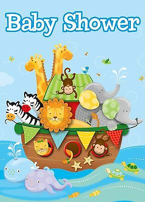 Noah Ark Invitations Baby Shower lovely animal zoo theme](Noah's Ark Baby Shower Theme)