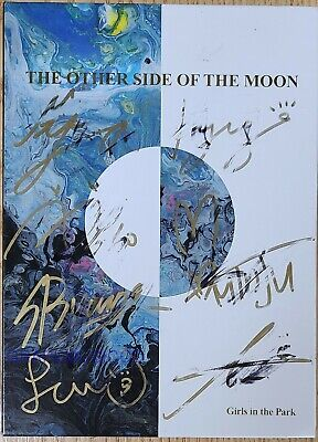 GWSN THE OTHER SIDE OF THE MOON 5TH MINI REAL SIGNED AUTOGRAPHED PROMO CD#1