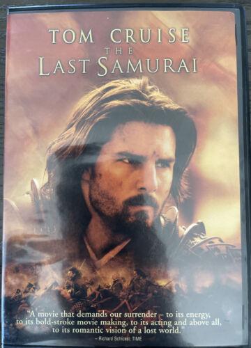 The Last Samurai DVD, 2008  - $6.64