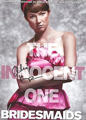 Ellie Kemper Signed Bridesmaids  8X10 Photo   Unbreakable Kimmy Schmidt