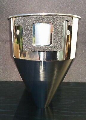 Mazzer Custom Doserless Stainless Steel Funnel - For Super Jolly Major Mini
