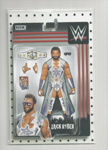 BOOM STUDIOS WWE COMIC BOOK # 18 ZACK RYDER ACTION FIGURE COVER