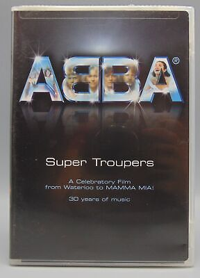 ABBA Super Troupers A Celebritory Film From Waterloo To MAMMA MIA! (DVD, 2004)