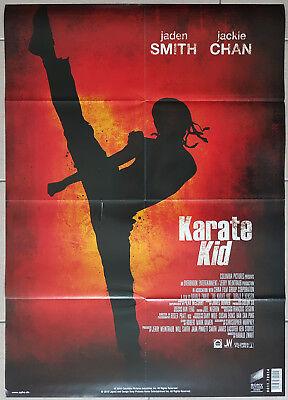 Jackie Chan Jaden Smith THE KARATE KID Movie Film Poster Plakat Banner 84x60 cm ()