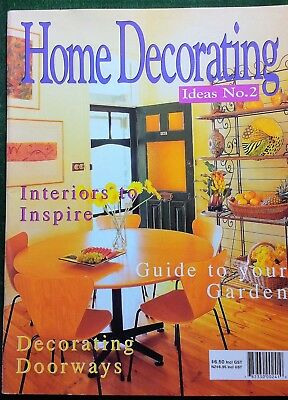 HOME DECORATING - IDEAS NO.2. - COLOUR, HEAT, GARDEN, DOORWAYS, REPAIRING CARPET