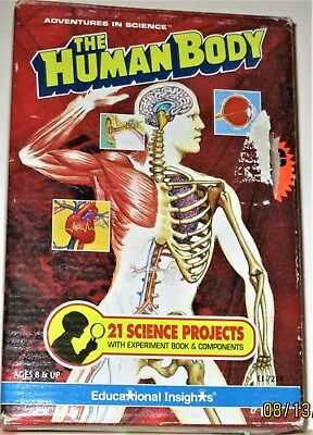 The Human Body, 21 Science Projects by Educational Insights, Easy & Fun Projects