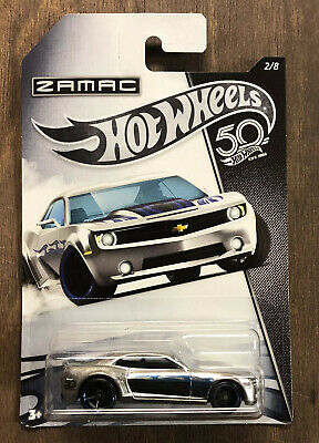 Hot Wheels Chevy Camaro Concept Zamac 50th Anniversary Series 2017 Mattel