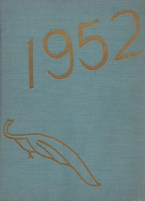 College Yearbook Bryn Mawr College Bryn Mawr Pennsylvania Pa 1952