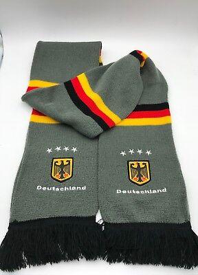 Schal Bestickung BRD Deutschland Germany Bundes Adler Sterne grau