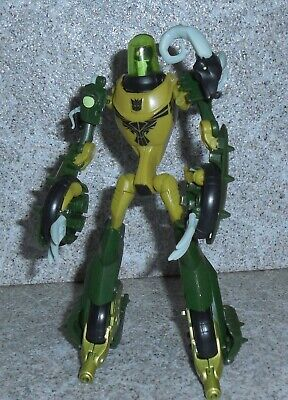 Transformers Animated OIL SLICK  Deluxe -Missing Barrels-