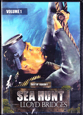 New: Sea Hunt: Best of Season 1 Vol 1 LLoyd Bridges New DVD