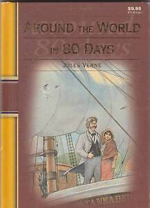 AROUND THE WORLD IN 80 DAYS Jules Verne ~ 1st Ed HC 2008 Perth Region Preview