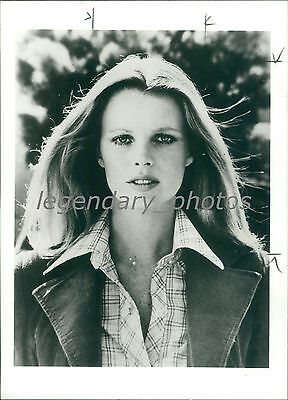 1982 Portrait Of Actress Kim Basinger Original News Service Photo
