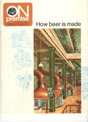 VINTAGE 1972 SCHLITZ BEER MAGAZINE!