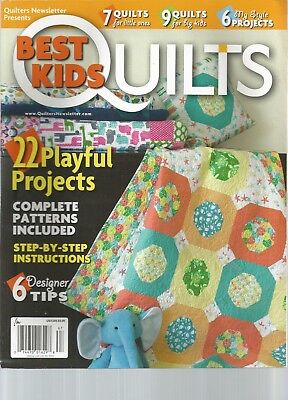 QUILTERS NEWS LETTER, BEST KIDS QUILTS, SPRING 2015