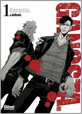 Collection de mangas Gangsta. - 4 premiers tomes - Glénat manga - Gangsta
