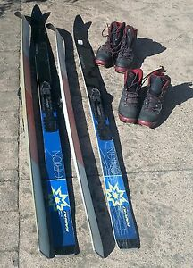 KAHRU Backcountry touring skis and boots