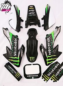 Monster Energy CRF50 Graphics Kit for Plastics Pit Bike Stomp Demon X