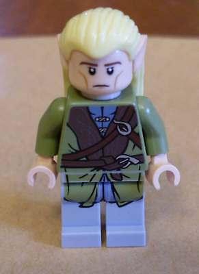 Lego Herr Der Ringe - Legolas Figur Mit 2 Gesichtern Elfe Elfen Elben Neu