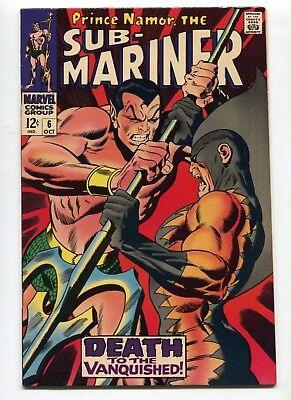 1968 MARVEL SUB-MARINER #6 TIGER SHARK APPEARANCE  NM- 9.2 E5