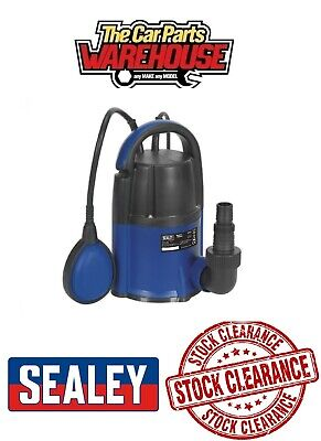 SEALEY WPL117A Low Level 117Ltr Min Automatic Submersible Flood Clean Water Pump