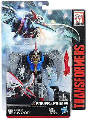 Transformers Power of the Primes Deluxe Dinobot Swoop Action Figure