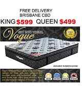 FREE DELIVERY Queen King Vogue Pillow Top RENT Or BUY Vogue Sumner Brisbane South West Preview