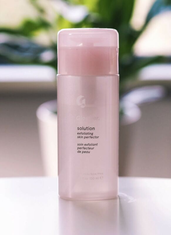 NEW - Glossier Solution Exfoliating Skin Perfector • 4.4 fl oz / 130 ml