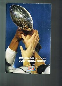 2007 Indianapolis Colts NFL Football Media GUIDE