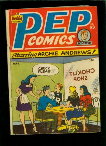 Pep Comics 63 GD/VG 3.0