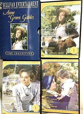 Anne Of Green Gables Trilogy Box  3 Discs The Collection Ships Free Tracking