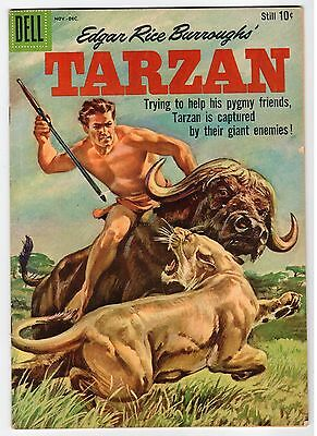 Dell Edgar Rice Burroughs TARZAN #115 - VG 1959 Vintage Comic