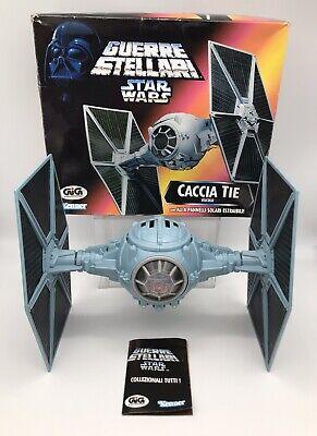 Star Wars Tie Fighter POTF 2 1995 Italian Import GiGi Caccia Tie Veicolo Rare