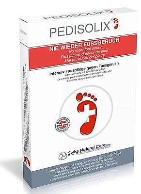 Fußgeruch & Schweißfüße? PEDISOLIX Fußpflege Fußcreme Fußdeo Deo Deodorant