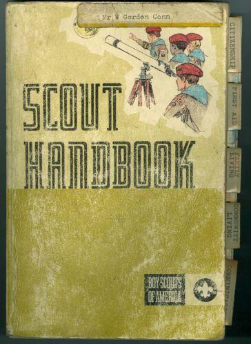 "1972 Boy Scout ""Scout Handbook"""